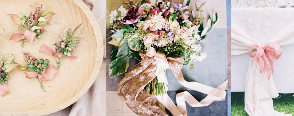 Les rubans, ces détails ultra-romantiques à intégrer à votre décoration de mariage
