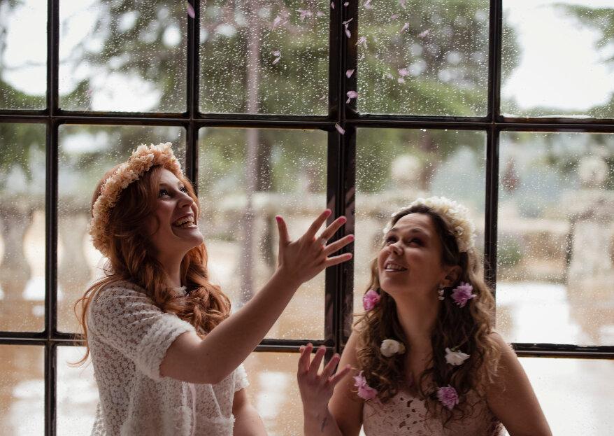 Ana & Isabelle: una sesión de novias a lo Anais Anais