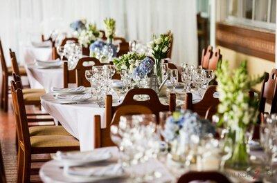 4 dicas infalíveis para uma decoração de casamento elegante, especial e sem exageros