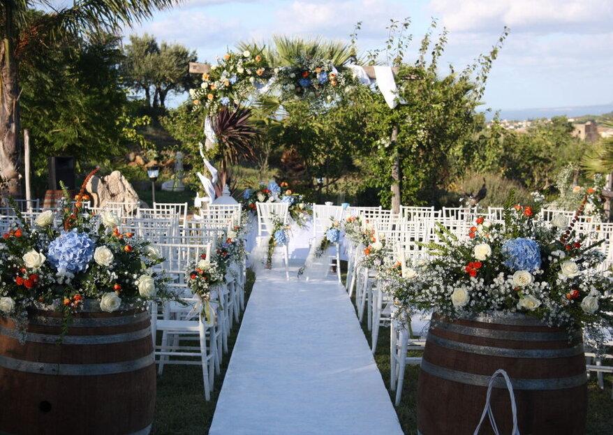 Una location caratteristica dove vivere i momenti più emozionanti delle vostre nozze!