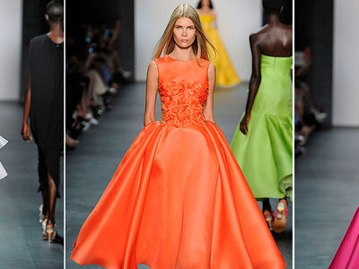 Angel Sanchez Spring/Summer Ready to Wear 2016 New York Fashion Week Catwalk