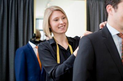 THE BLOKE – Maßkonfektion aus Düsseldorf Vom perfekten Anzug für den Bräutigam