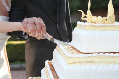 Torta nuziale: consigli e idee per una super wedding cake!