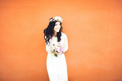 Peinados de novia con extensiones. ¡Conoce la opinión de los expertos!