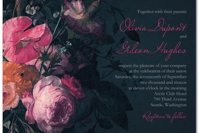 Claire Pettibone e sua coleção exclusiva de convites de casamento vintage