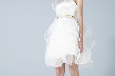 Minimal-chic ed eccentricità per la nuova collezione Sposa Suzanne Ermann 2014