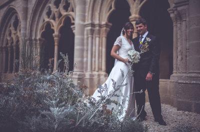 Un amor de los de siempre: la boda de Anaís y Xavi