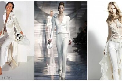 La sposa con i pantaloni, ovvero, l'eleganza dello stile 'garçon'