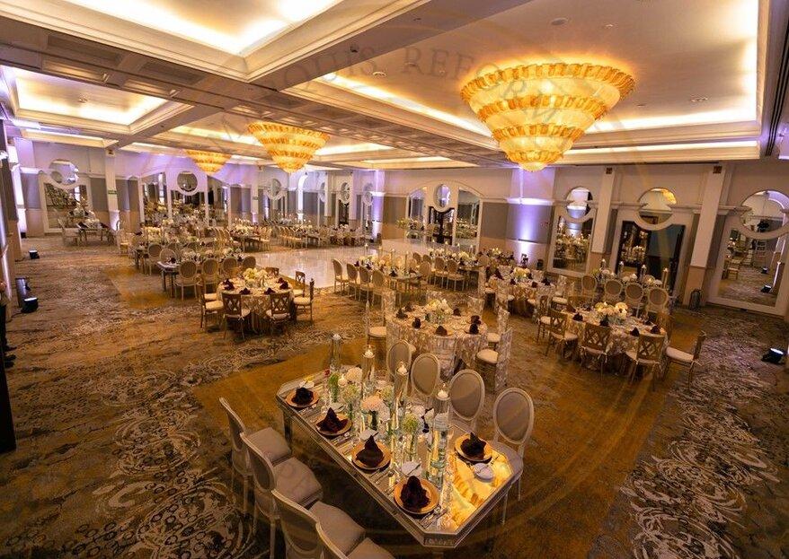 Hotel Marquis Reforma: el lugar ideal para organizar y realizar el día más feliz de tu vida