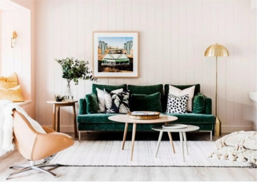 Décoration velours: 5 astuces pour donner à votre maison un style nordique