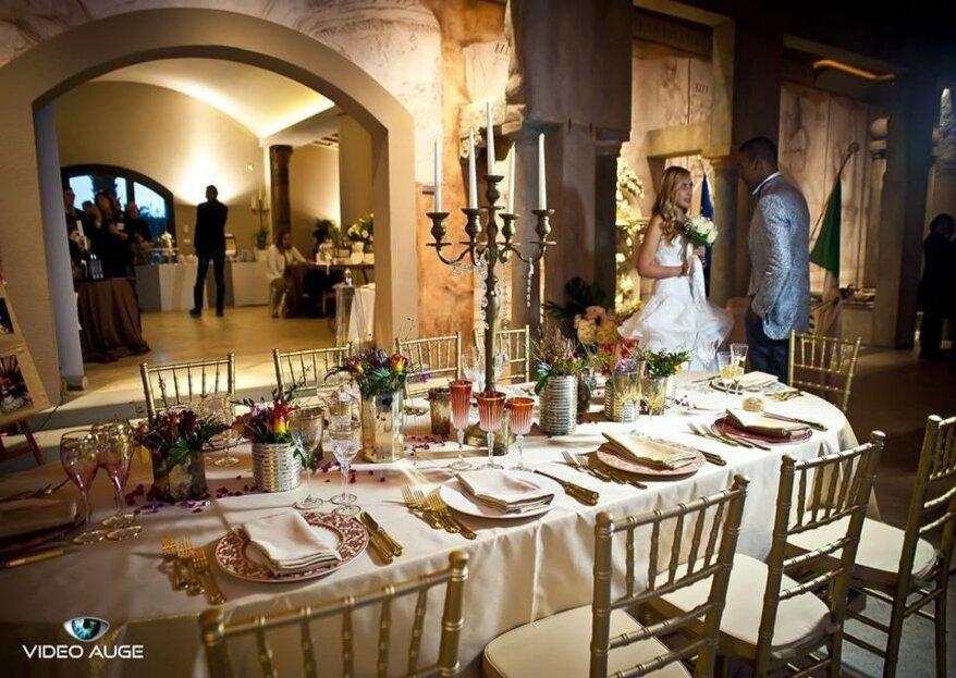 Aliante Catering ed Eventi: ritrovare l'eccellenza estetica nell'allestimento delle nozze e nella cucina