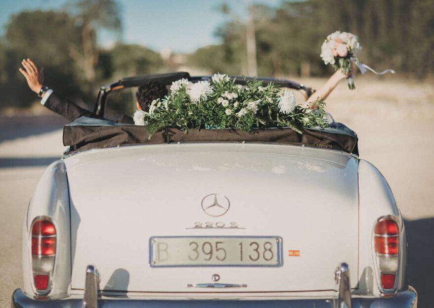 Cómo elegir el coche para tu boda en 5 pasos