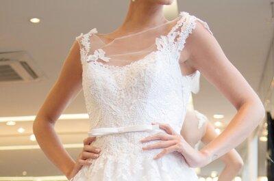 Como escolher o vestido de noiva dos sonhos e não morrer de calor?