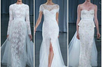 Monique Lhuillier Fall 2013 Bridal Collection, per la sposa romantica e glamour!