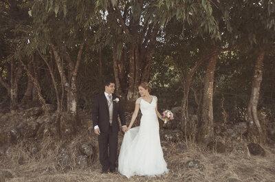 La sencillez y elegancia materializadas en una celebración llena de detalles: la boda de Isabel y Pablo