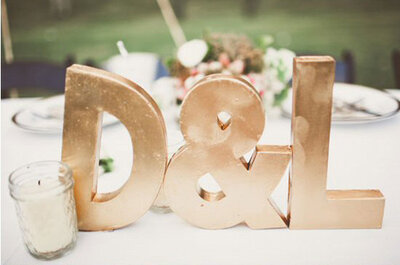 Rendi speciale il tuo matrimonio 2016 con dettagli e accessori gold