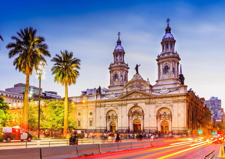 Iglesias para casarse en Santiago: las 10 más hermosas para dar el 'Sí'
