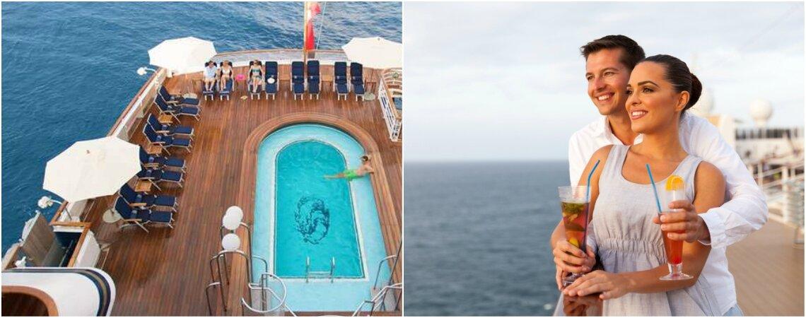 Seis ventajas de disfrutar tu luna de miel en un crucero. ¡Lujo, vistas y varios destinos!
