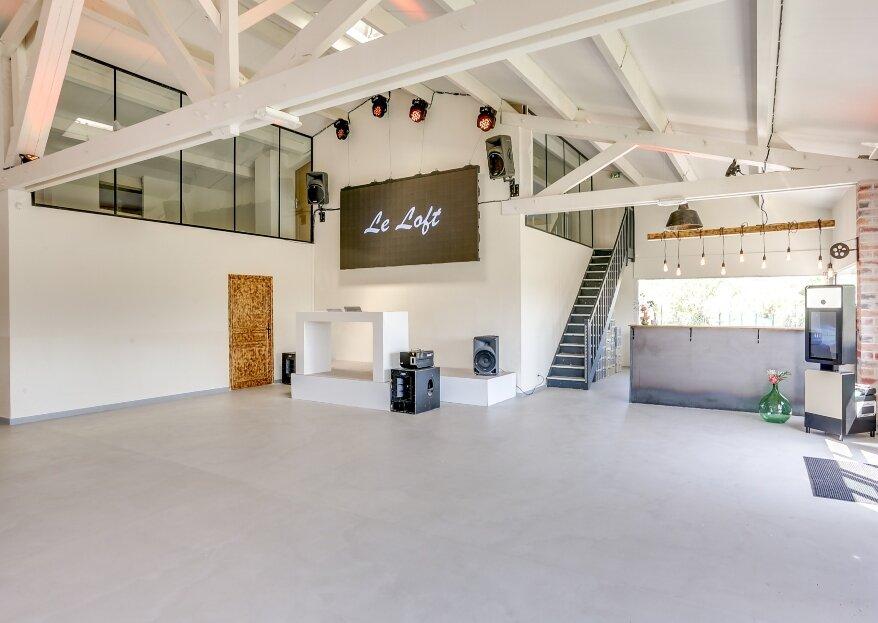 Le Loft : un lieu de réception atypique au style new-yorkais