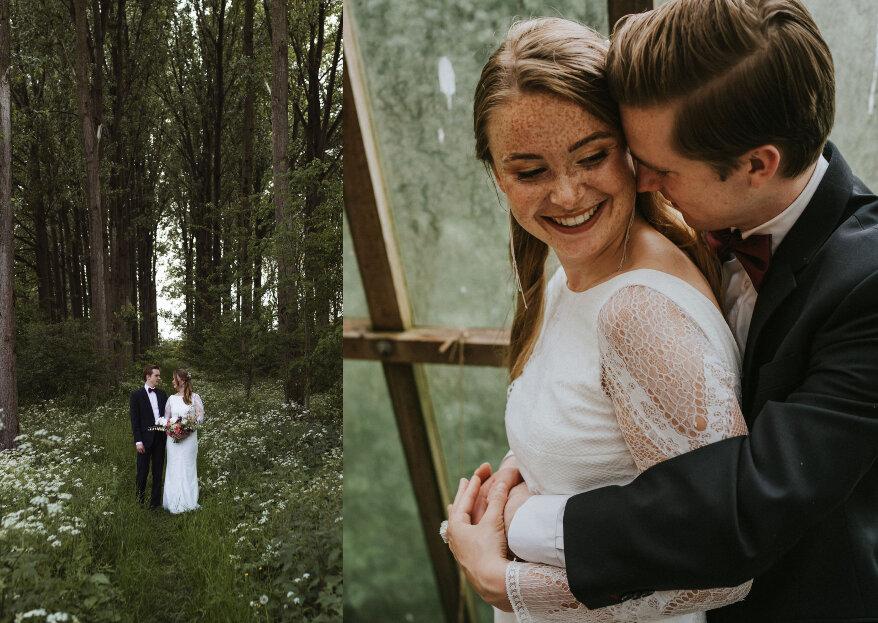 Modern Festive Summer Wedding: laat je inspireren voor jouw eigen bruiloft in de buitenlucht!