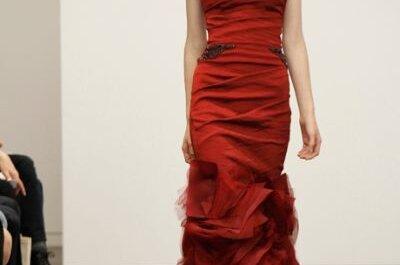 Vestidos de festa vermelhos: diversos modelos e tons