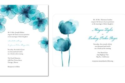 ¡Ponle color! Invitaciones de boda coloridas para primavera 2013
