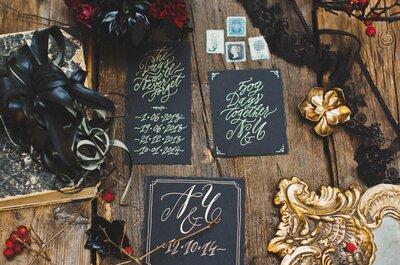 Свадьба в черном цвете Touch of the dark: самое оригинальное решение