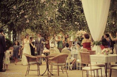 Conselhos fundamentais para se casar no jardim da sua casa