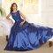 Vestidos de novia largos azules 2017