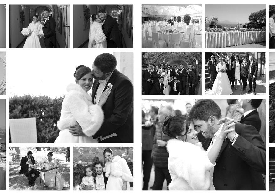 """""""Guardo il film della mia vita e ci sei tu"""": le nozze di Giulia e Mario"""