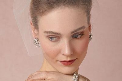 Os véus de noiva mais lindos e delicados para 2015: escolha o que mais combina com você!