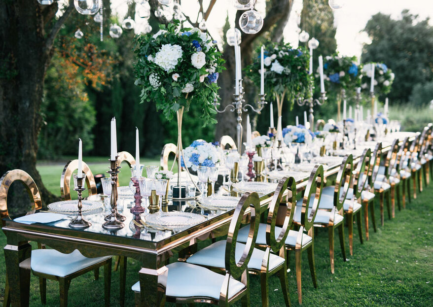 Erika Morgera Wedding Designer: your destination wedding will be a true spectacle of lights and colours
