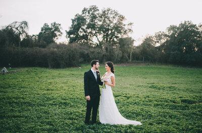 Donde sea y como sea, pero contigo: la boda de Mariam Y Julien