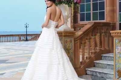 Die Sincerity Kollektion 2015: Brautkleider für Romantikerinnen!