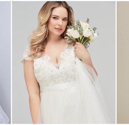 ad96c57a6 47 vestidos de novia talla grande  ¡los últimos diseños para lucir curvas!