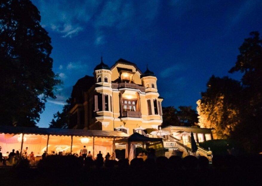 Zauberhaft und privat heiraten in der Schlossvilla Miralago – hier werden Träume wahr!