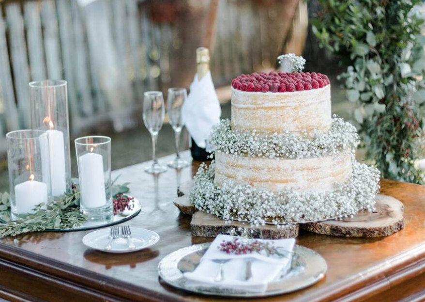 Os imprescindíveis do lado mais delicioso do seu dia: o catering, candy bar e bolo de casamento!