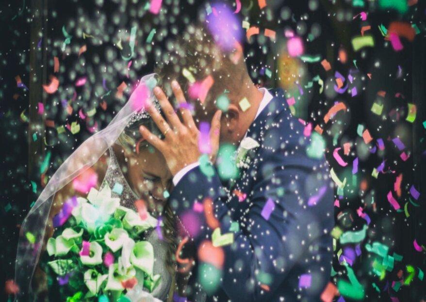Wedding Reel: il filmato emozionante del vostro matrimonio realizzato in tempo reale
