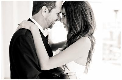 A veces las fotos de boda en blanco y negro son las mejores