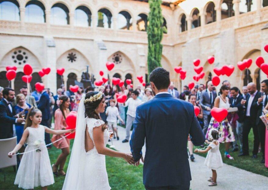 Disfruta con los cinco sentidos de tu matrimonio. ¡No faltará detalle!