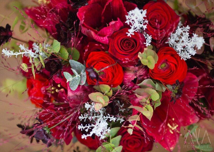 Grâce à ces fleuristes, optez pour une cérémonie haute en couleurs !