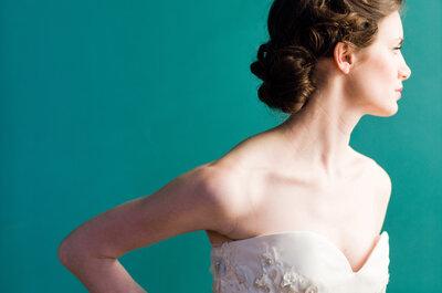 Vestidos de novia frescos y originales para primavera