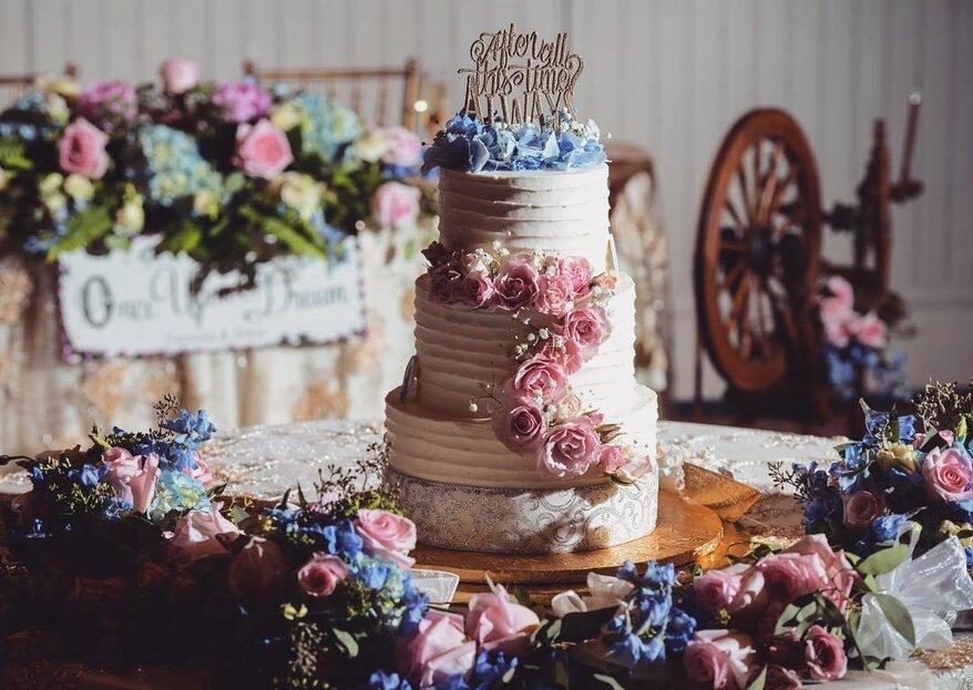 6 bolos de noiva inspirados no mundo Disney