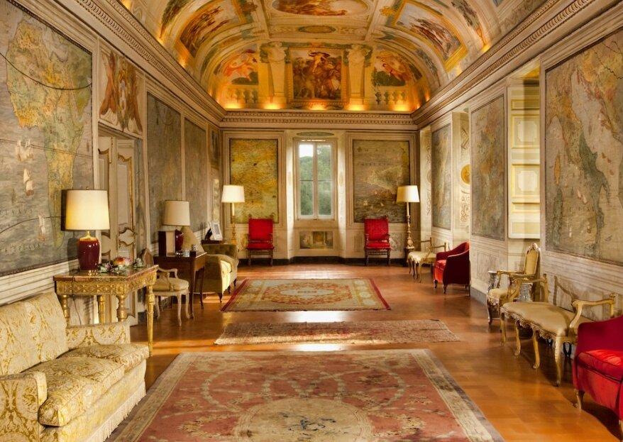 Una tenuta caratteristica a poca distanza da Roma dove poter celebrare il vostro matrimonio: Castel Fusano