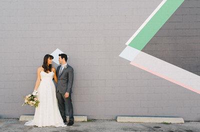 Motifs géométriques pour votre décoration de mariage