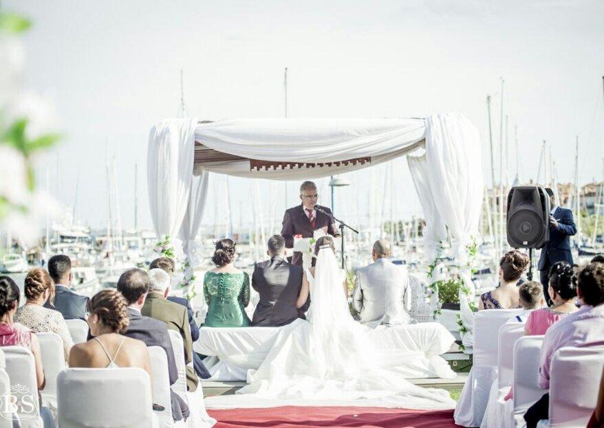 Hotel Puerto Sherry: tu boda en la Bahía de Cádiz con el Océano Atlántico como testigo