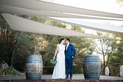 Destination wedding na Catalunha, Espanha: de tirar o fôlego!