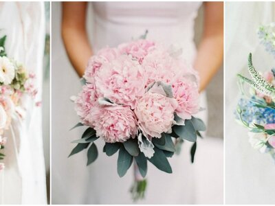 Spektakularne różowe bukiety ślubne. Wybierz swój ulubiony!
