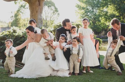 Esto es lo que debes saber sobre las fotos grupales en tu boda: ¡Consejos de expertos!