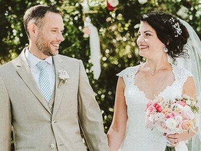 Laure et Jesse : un mariage franco-canadien au coeur du Parc Régional de la Narbonnaise